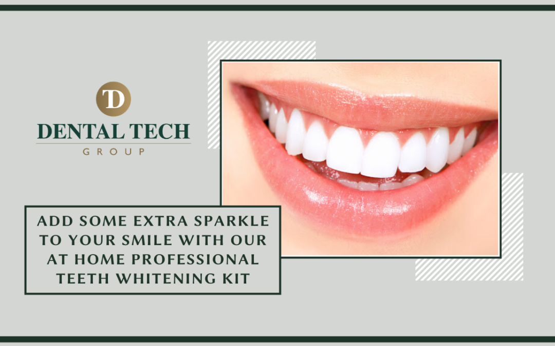 Add Some Sparkle To Your Smile With Our Professional Teeth Whitening Kit