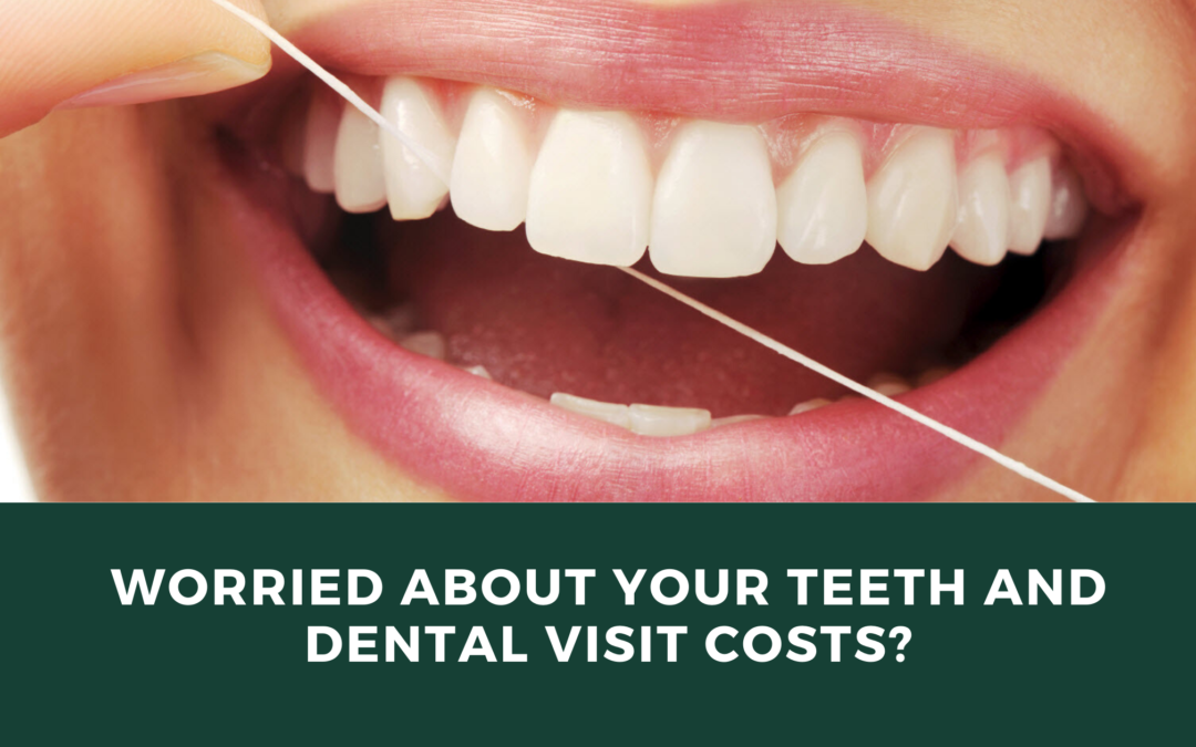 Worried About Your Teeth And Dental Visit Costs?