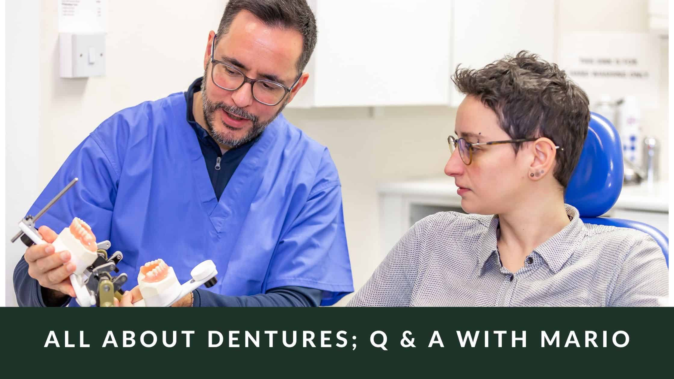all about dentures q and a with mario