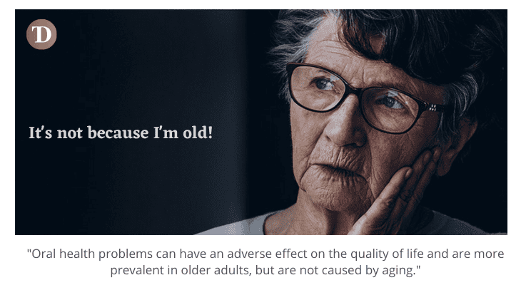 Cause and Effect of Deterioration of Oral Health in Care Homes